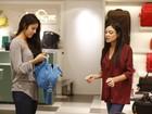 Yanna Lavigne faz compras em shopping do Rio