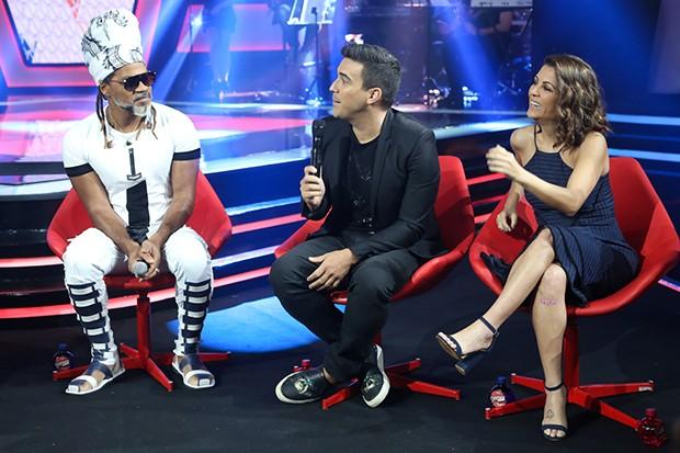 Carlinhos Brown, Andre Marques e Thalita Rebouças (Foto: Roberto Filho/ Brazil News)
