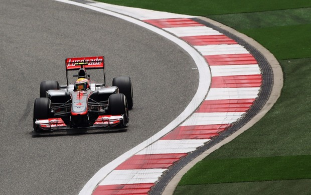 Lewis Hamilton, treino GP da China 2012 (Foto: Getty Images)