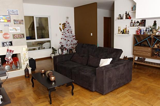 A sala da casa de Carol Narizinho (Foto: Celso Tavares/EGO)