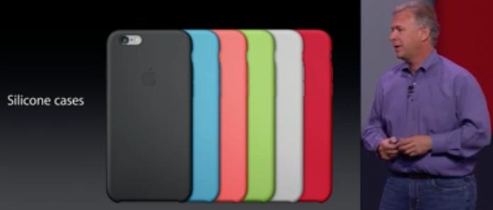 Novas capas do iPhone 6 e iPhone 6 Plus (Foto: Reprodução/Apple)