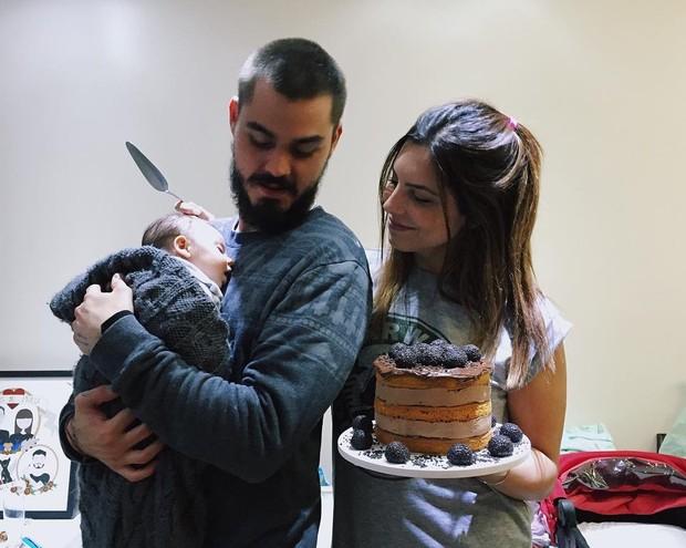 Rubia Baricelli comemora dois meses da filha Helena (Foto: Reprodução / Instagram)