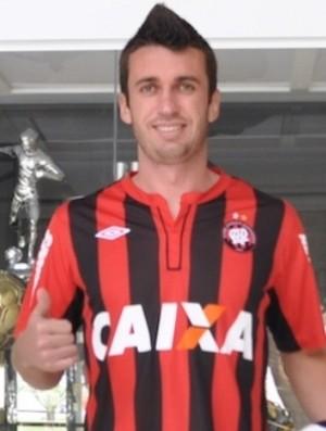 Elias, meia do Atlético-PR (Foto: Divulgação/Site oficial do Atlético-PR)