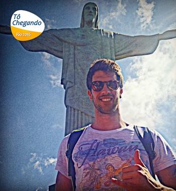 Carrossel To chegando Federico Grabich natação Argentina (Foto: Reprodução / Instagram)