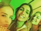 Angélica e Grazi Massafera curtem festa juntinhas no Rio