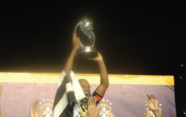 Botafogo-PB campeão Brasileiro da Série D  (Foto: Silas Batista / Globoesporte.com/pb)