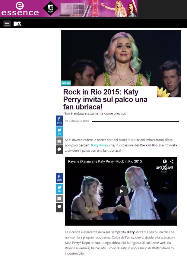 MTV Itália (Foto: Reprodução)