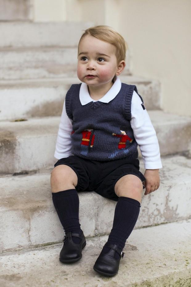 Príncipe George (Foto: REUTERS/TRH The Duke and Duchess of Cambridge/Handou)