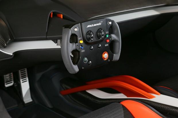 Conceito do McLaren 675LT JVCKenwood (Foto: Divulgação)