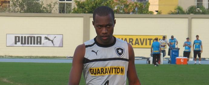 Brinner treino Botafogo (Foto: Thales Soares / Globoesporte.com)
