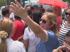 No AM, professores e alunos da UEA protestam contra corte de gastos