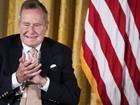 Ex-presidente George Bush teria a intenção de votar em Hillary