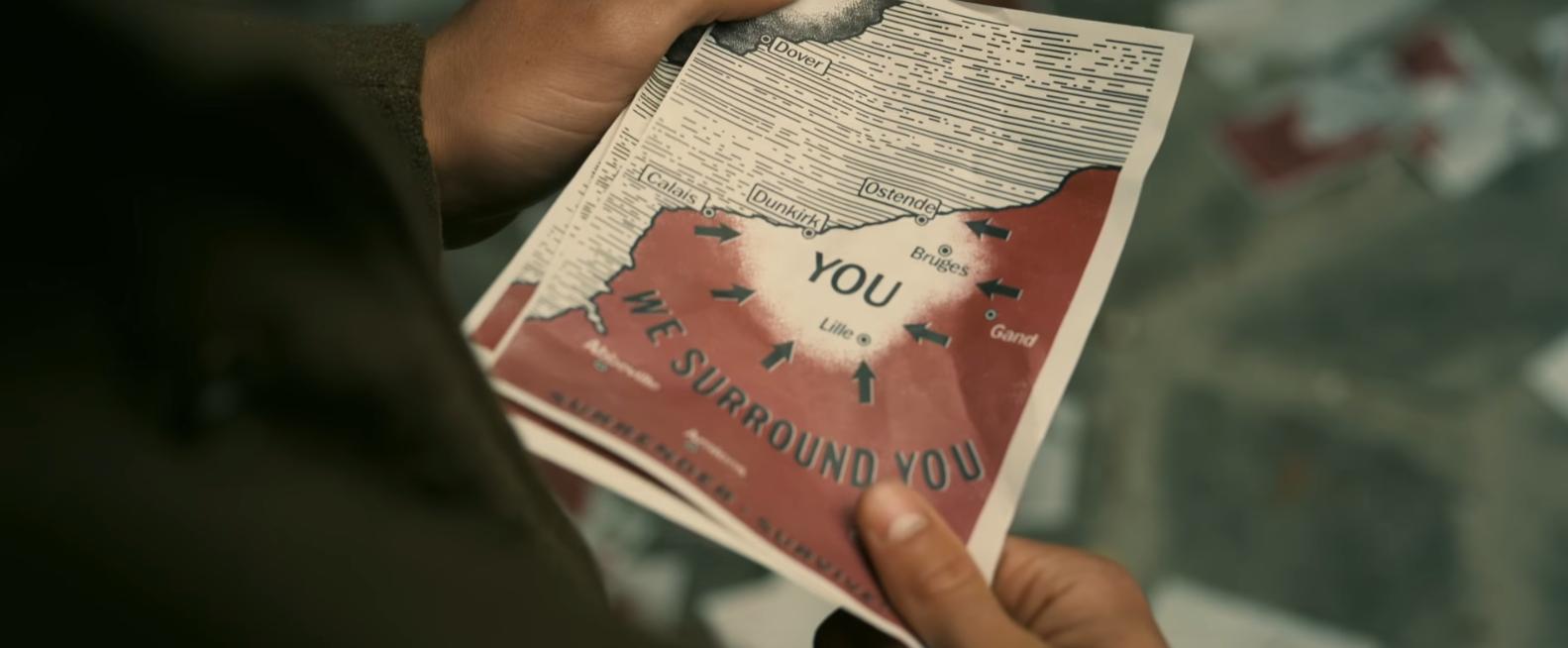 Cena de trailer do filme 'Dunkirk' (Foto: Reprodução/Youtube)