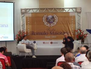 Troféu Rômulo Maiorana 2012 - Carlos Ferrira e Doutor Gustavo Pires  (Foto: Pedro Cruz/GLOBOESPORTE.COM)