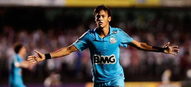 neymar santos semifinal são paulo (Foto: Marcos Ribolli / Globoesporte.com)