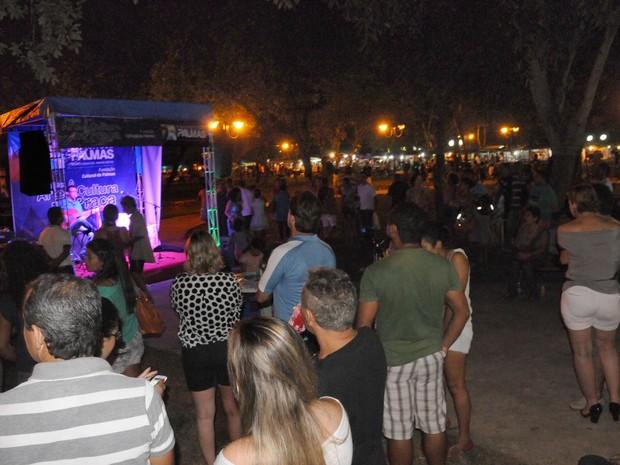 Circuito cultural acontece neste domingo (19) na praça do Bosque (Foto: Antônio Gonçalves/Ascom Palmas)