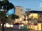 Prefeitura do Rio implode prédio ao lado do hospital na Zona Oeste