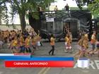 Bloco do Pimenta anima foliões no pré-carnaval em Caçapava, SP