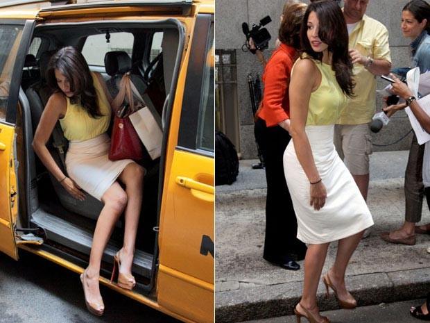 Em 2010, Debrahlee Lorenzana processou o banco Citibank após ser demitida por ser 'sexy demais' (Foto: AP)