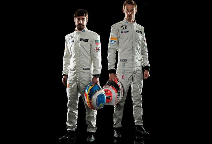jenson button fernando alonso mclaren formula 1 carro novo (Foto: Site Oficial McLaren)