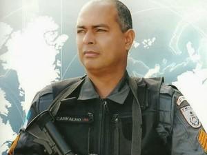 Sargento Carvalho ficou internado por 15 dias, mas não resistiu.  (Foto: Sargento Américo/Arquivo pessoal)