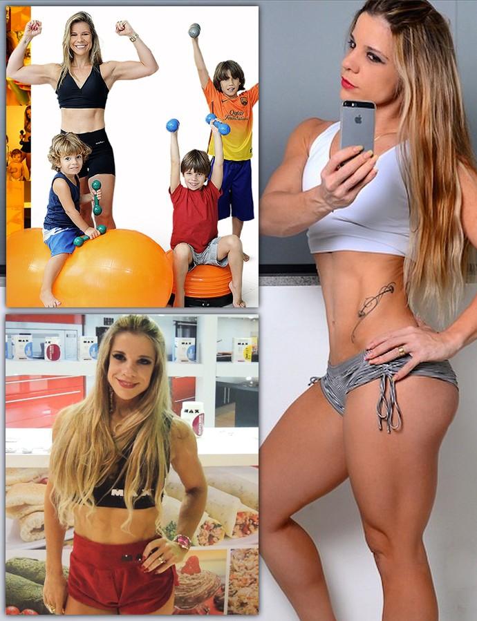 euatleta mamae fitness mosaico (Foto: eu atleta)