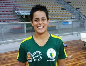 Mariana Medeiros, jogadora do Cepe Clube 2004 Santos (Foto: Divulgação / Cepe Clube 2004 Santos)