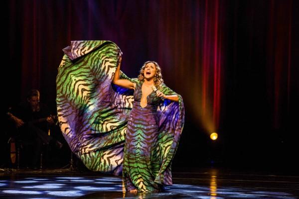 Daniela Mercury solta a voz em show que comemora carreira e Axé (Foto: Célia Santos/Divulgação)