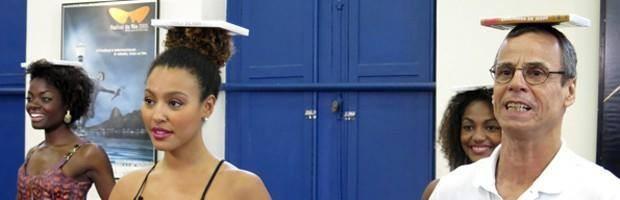 Nayara Justino, de Volta Redonda segue na disputa para ser a nova Globeleza (Foto: Perla Rodrigues/TV Globo)
