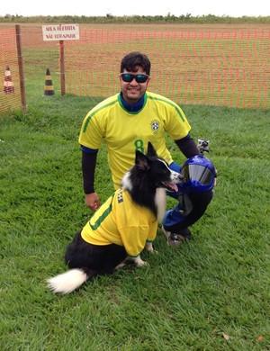 Iury Carvalho e Guz Carvalho, os companheiros inseparáveis (Foto: Iury Carvalho/ arquivo pessoal )