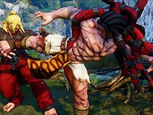 Necalli, primeiro lutador inédito de 'Street Fighter V' (Foto: Divulgação/Capcom)
