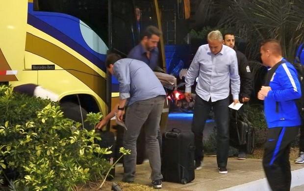 Corinthians desembarque Montevidéu Tite
