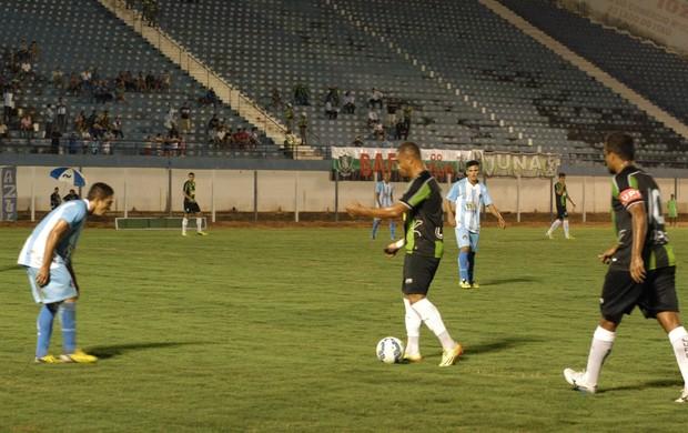 Luziânia e América-MG, pela Copa do Brasil (Foto: AFC/Carlos Cruz)