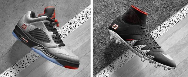 fb50f1b30 G1 - Nike  mistura  Neymar e Michael Jordan em linha esportiva ...