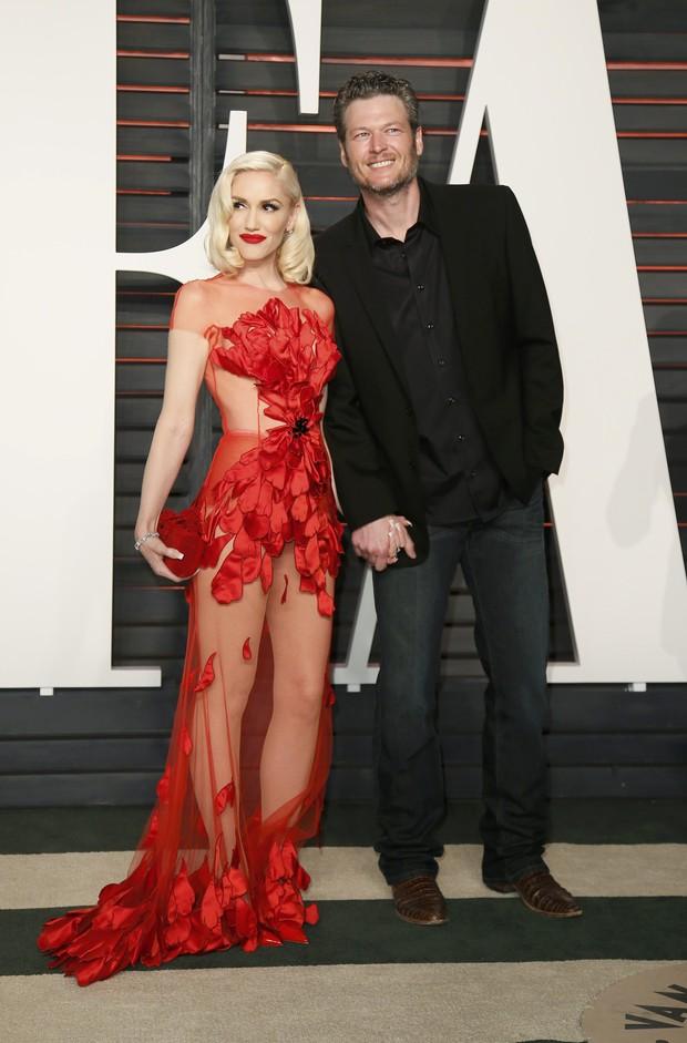 Gwen Stefani e Blake Shelton (Foto: Reuters)