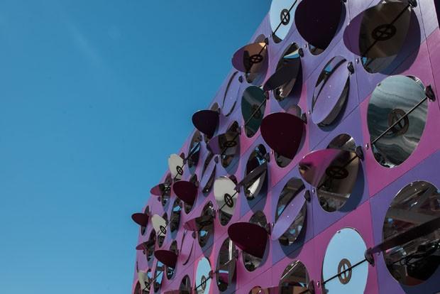 Pavilhão feito para as Olimpíadas do Rio ganha prêmio internacional (Foto: Divulgação)