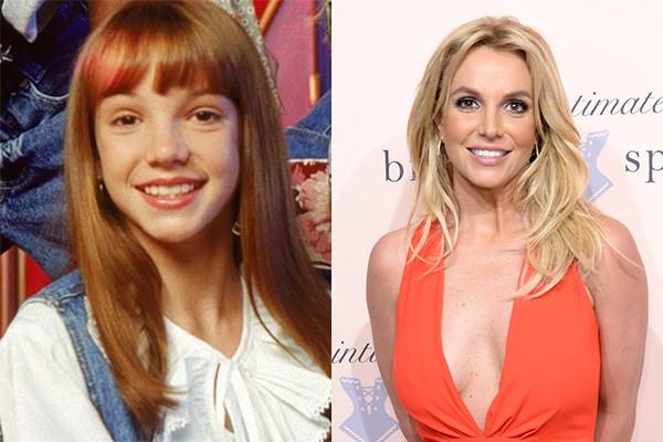 Britney Spears começou a carreira no programa infantil 'The Mickey Mouse Club'. Desde então, ela investiu na carreira musical e tornou-se a princesa do pop, com milhões de discos vendidos ao redor do mundo. (Foto: Divulgação/Getty Images)