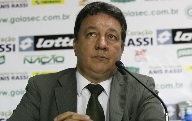 João Bosco Luz, presidente do Goiás (Foto: Rosiron Rodrigues/Goiás E.C.)