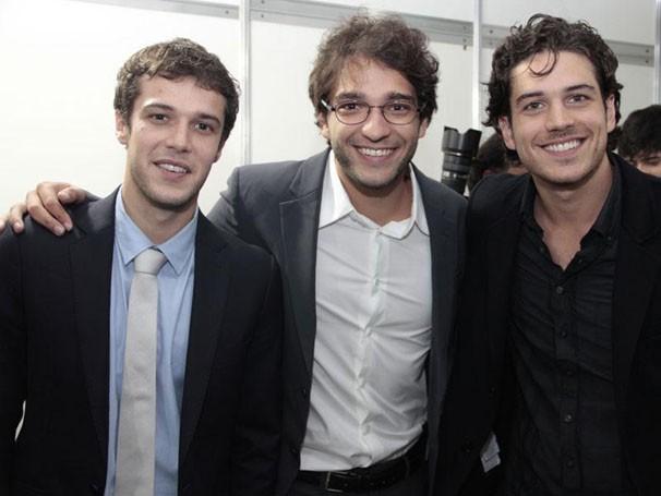 Jayme Matarazzo, Humberto Carrão e Marco Pigossi prometem arrasar muitos corações em Sangue Bom (Foto: Divulgação/TV Globo)