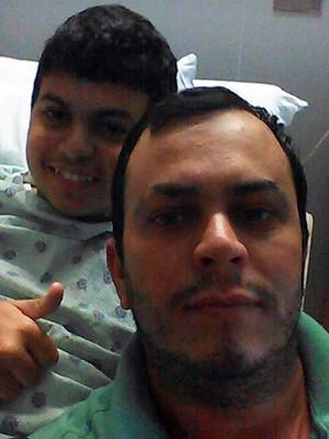 Juninho, Antônio Gleiber, pai, Campos Gerais, Miami (Foto: Reprodução/ Facebook)