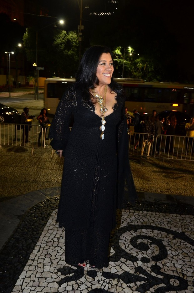 Regina Casé no Grande Prêmio do Cinema Brasileiro (Foto: Roberto Teixeira/EGO)