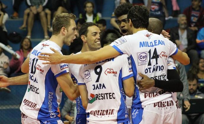 Vôlei Taubaté x Sesi-SP final da Copa São Paulo (Foto: Rafinha Oliveira/Funvic Taubaté)