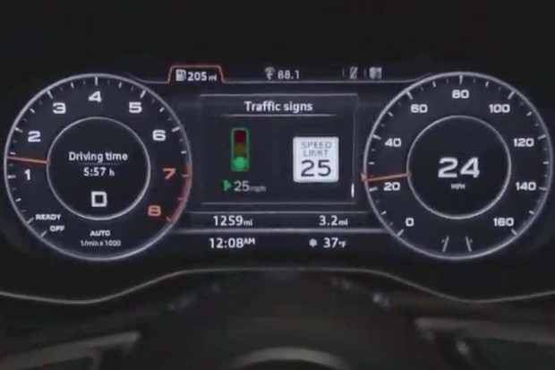 "Audi ""Traffic light information"" (Foto: Divulgação)"