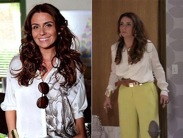 As roupas da delegada Heloísa são o maior sucesso! (Foto: Divulgação/TV Globo)