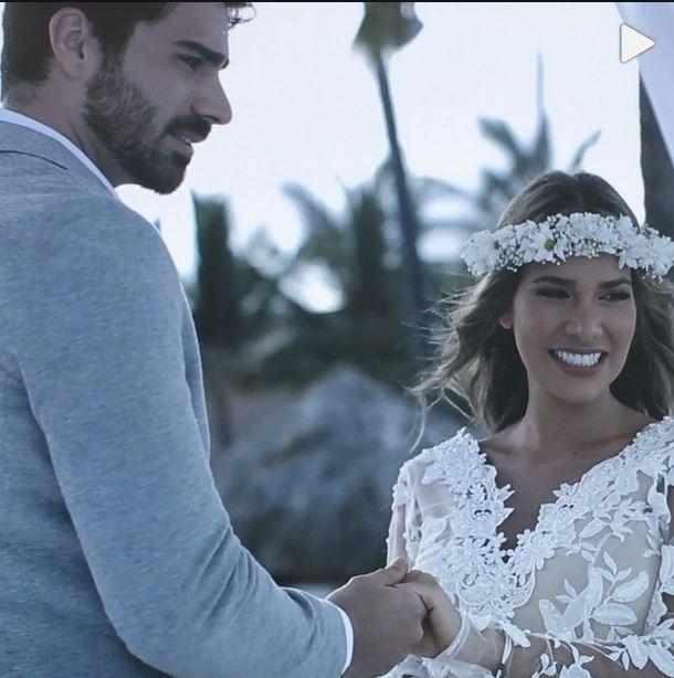Adriana Sant'Anna e Rodrigão no casamento (Foto: Reprodução_Instagram)