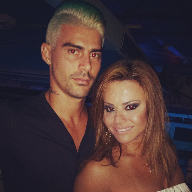 Radamés e Viviane Araújo (Foto: Reprodução/Instagram)