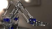 'Braço robótico' é apresentado em oficina (Divulgação/Campus Party)