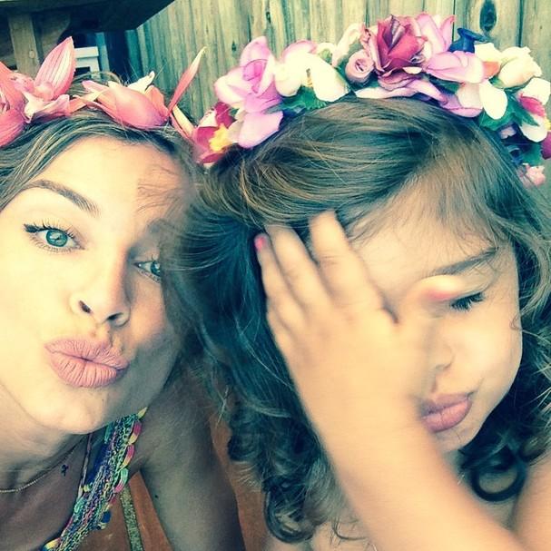 Grazi Massafera e a filha, Sofia (Foto: Reprodução/Instagram)