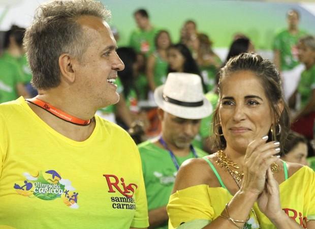 Orlando Morais e Gloria Pires (Foto: AgNews)