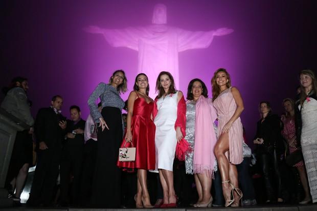 Alexandra Richter, Isis Valverde e Sabrina Sato (Foto: ROBERTO FILHO / BRAZIL NEWS)